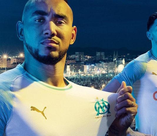Le nouveau maillot domicile de l'OM avec Puma