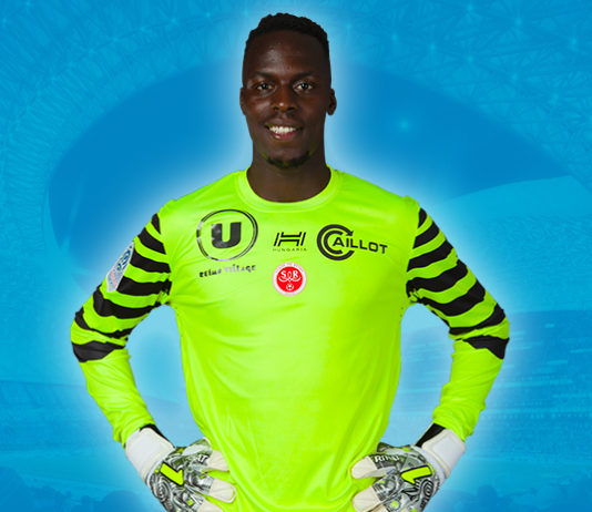 Edouard Mendy, gardien du Stade de Reims