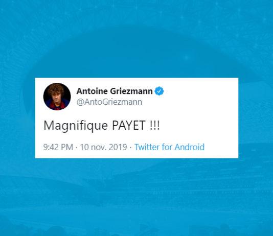 Griezmann bluffé par Payet