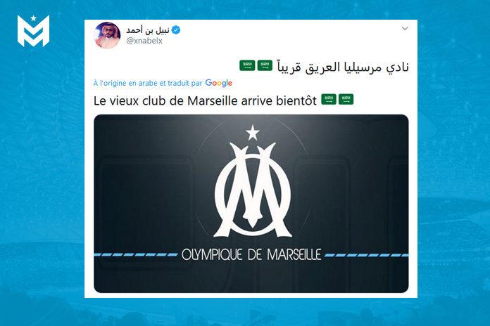 Tweet saoudien